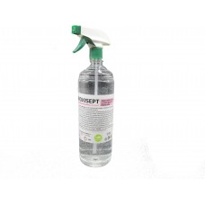 Bioxisept Dezinfectant pentru maini fara clatire cu efect antiseptic cu pulverizator, 1L