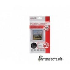 Plasa anti insecte pentru usa 150 x 180 cm (alba / neagra)