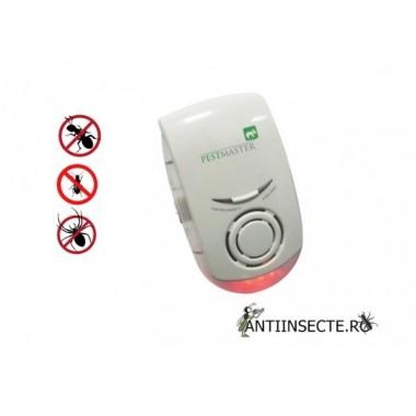 Aparat anti rozatoare si insecte taratoare cu ultrasunete si unde electromagnetice - ZN1002