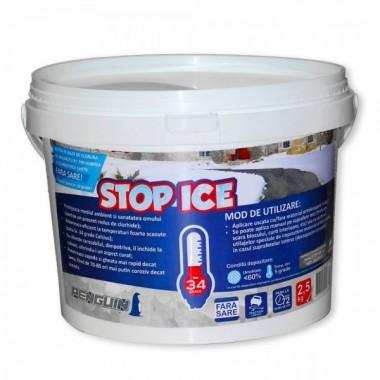 STOP ICE-produs biodegradabil pentru deszapezire, prevenire / combatere gheata, dezghetare rapida 2.